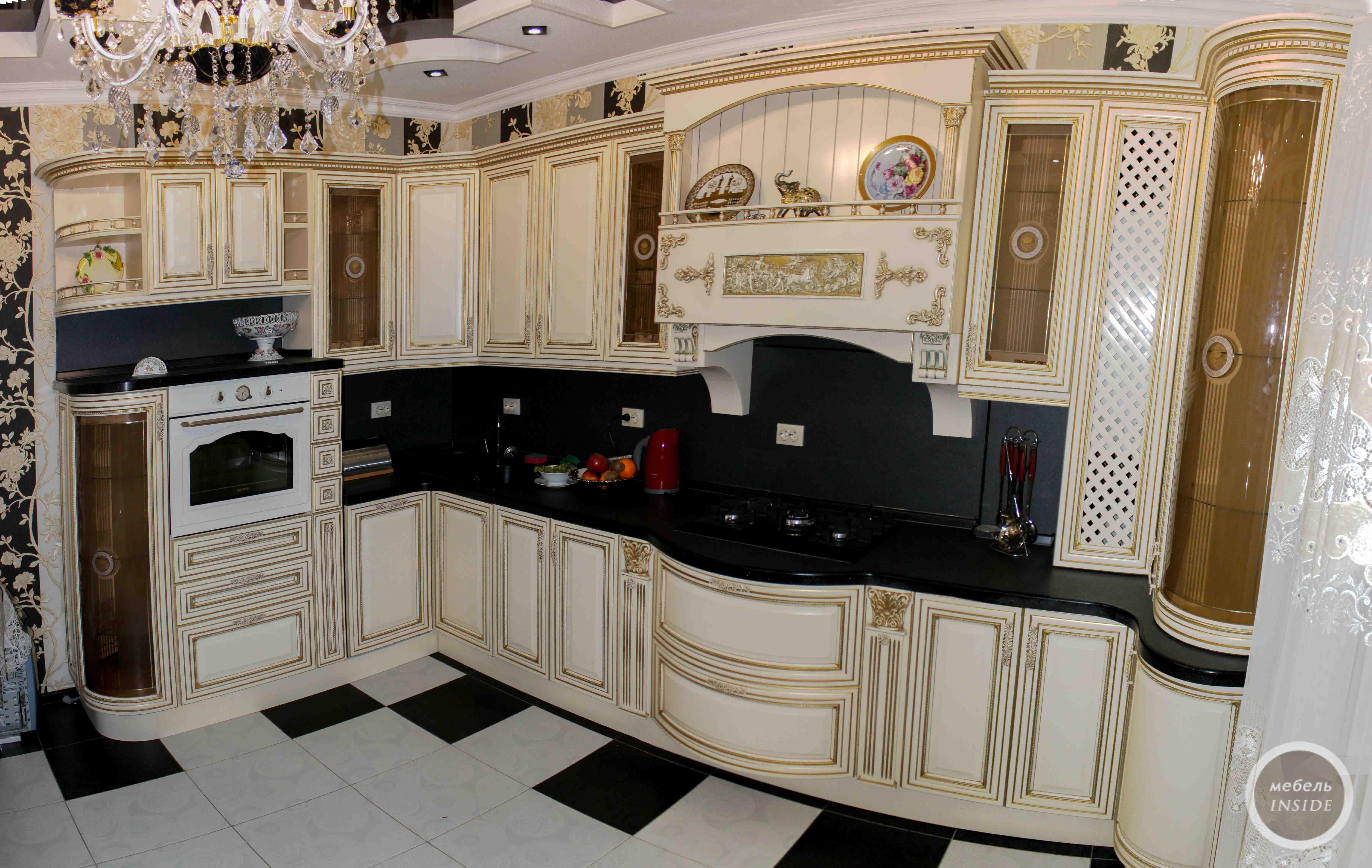 слоновая кость кухня фото